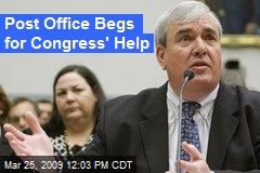 Post Office Begs for Congress' Help