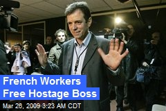 French Workers Free Hostage Boss
