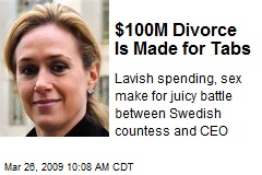 $100M Divorce Is Made for Tabs