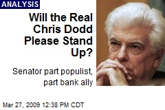 Will the Real Chris Dodd Please Stand Up?