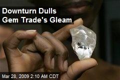 Downturn Dulls Gem Trade's Gleam