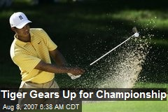 Tiger Gears Up for Championship