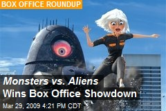 Monsters vs. Aliens Wins Box Office Showdown