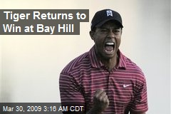 Tiger Returns to Win at Bay Hill