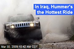 In Iraq, Hummer's the Hottest Ride