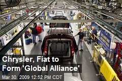 Chrysler, Fiat to Form 'Global Alliance'
