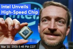 Intel Unveils High-Speed Chip