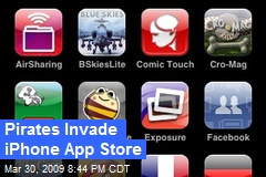 Pirates Invade iPhone App Store