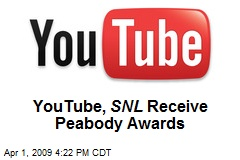 YouTube, SNL Receive Peabody Awards