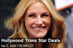 Hollywood Trims Star Deals
