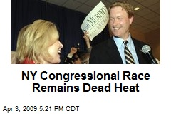 NY Congressional Race Remains Dead Heat
