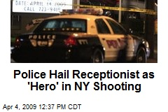 Police Hail Receptionist as 'Hero' in NY Shooting