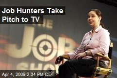 Job Hunters Take Pitch to TV