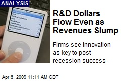 R&D Dollars Flow Even as Revenues Slump