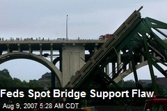 Feds Spot Bridge Support Flaw