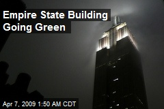 Empire State Building Going Green