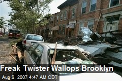 Freak Twister Wallops Brooklyn