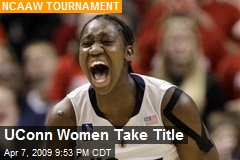 UConn Women Take Title