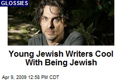 Young Jewish Writers Cool With Being Jewish