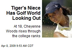 Tiger's Niece Has Golf World Looking Out