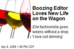 Boozing Editor Loves New Life on the Wagon