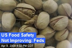 US Food Safety Not Improving: Feds