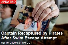 Captain Recaptured by Pirates After Swim Escape Attempt