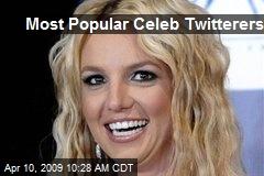 Most Popular Celeb Twitterers