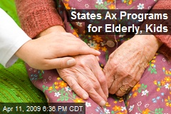 States Ax Programs for Elderly, Kids