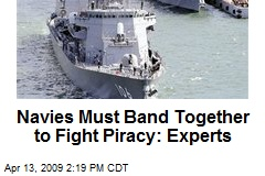 Navies Must Band Together to Fight Piracy: Experts