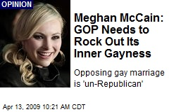 Meghan McCain: GOP Needs to Rock Out Its Inner Gayness
