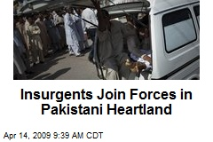 Insurgents Join Forces in Pakistani Heartland