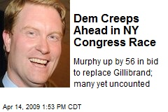 Dem Creeps Ahead in NY Congress Race