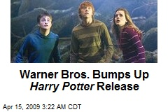 Warner Bros. Bumps Up Harry Potter Release