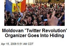Moldovan 'Twitter Revolution' Organizer Goes Into Hiding