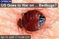 US Goes to War on ... Bedbugs?