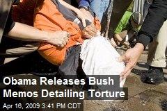 Obama Releases Bush Memos Detailing Torture