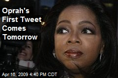 Oprah's First Tweet Comes Tomorrow