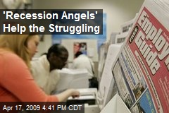 'Recession Angels' Help the Struggling