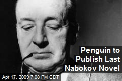 Penguin to Publish Last Nabokov Novel