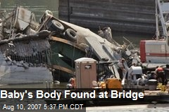 Baby's Body Found at Bridge