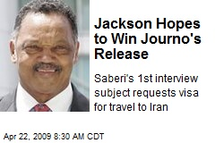 Jackson Hopes to Win Journo's Release
