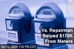 Va. Repairman Swiped $170K From Meters