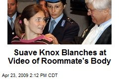 Suave Knox Blanches at Video of Roommate's Body