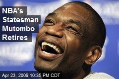 NBA's Statesman Mutombo Retires
