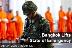 Bangkok Lifts State of Emergency