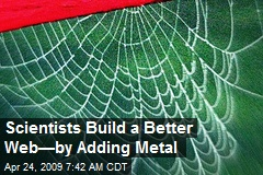 Scientists Build a Better Web—by Adding Metal