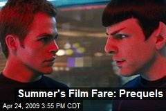 Summer's Film Fare: Prequels