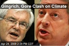 Gingrich, Gore Clash on Climate