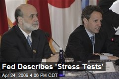 Fed Describes 'Stress Tests'
